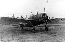 World War 1 Picture - Finnish Air Force Brewster B-239