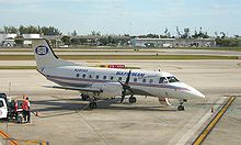 World War 1 Picture - A Gulfstream International Airlines EMB 120 at Fort Lauderdale-Hollywood International Airport
