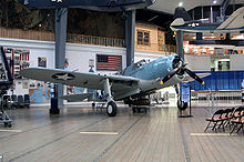 World War 1 Picture - The SB2A of the National Museum of Naval Aviation.