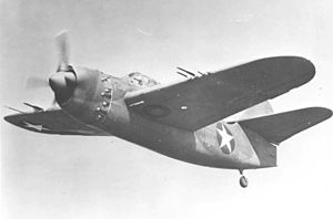 Airplane Picture - Brewster XA-32 during testing c. 1943 (U.S. Air Force photo)