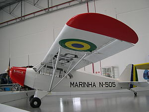 Airplane Picture - Brazilian Navy CAP-4 preserved at the Museu Asas de um Sonho