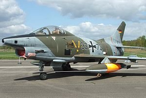 Airplane Picture - A Fiat G.91 at the Luftwaffe Museum in Gatow