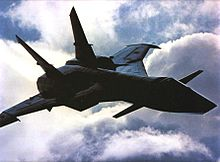 Airplane Picture - The MiG-31 Firefox, as seen in the film