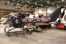 Airplane Picture - First P.531-0 protoype, XN332 ex-G-APNV in storage at RNAS Yeovilton in 2005
