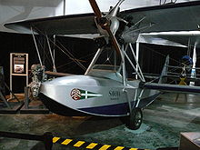 Airplane Picture - Savoia-Marchetti S.56 in the Cradle of Aviation Museum. This is one of two surviving planes.