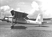 Airplane Picture - RAF Scottish Aviation Pioneer