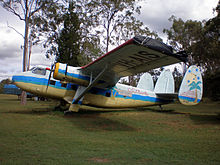 Airplane Picture - Scottish Aviation Twin Pioneer Srs3, VH-AIS