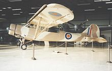 Airplane Picture - Ex-USAAC O-49 Vigilant in the Weeks Museum at Tamiami, Florida, in 1989 wearing RAF-style markings
