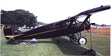 Airplane Picture - A 1928-built Stinson SM-2 Junior at Lakeland, Florida, in April 2007