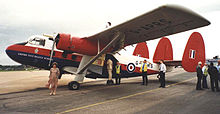 Airplane Picture - Twin Pioneer of Air Atlantique at Exeter in 1998