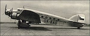 Airplane Picture - Czech Airlines S.73