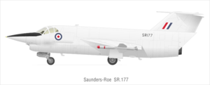 Airplane Picture - SR.177 with Red Top missiles