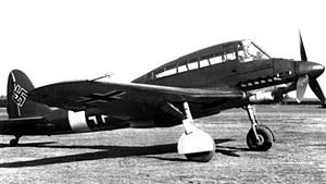 Airplane Picture - SM.93 with Luftwaffe insigna