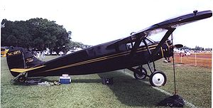Airplane Picture - Stinson SM-2 Junior of 1928 at the Sun N'Fun show, Lakeland, Florida in April 2007