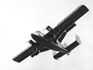 Airplane Picture - Twin Pioneer prototype bearing Scottish Airlines markings at the 1955 Farnborough SBAC Show