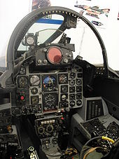 Airplane Picture - Cockpit of F-4 Phantom II