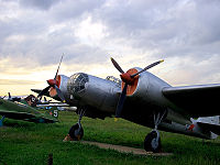 Airplane Picture - Tupolev SB in Monino Air Force Museum