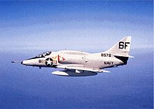 Airplane Picture - Naval Reserve A-4L of VA-203