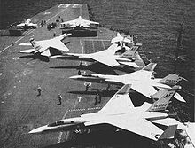 Airplane Picture - A-5As of VAH-7 on USS Enterprise in 1962.