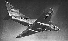 Airplane Picture - The second production A4D-1