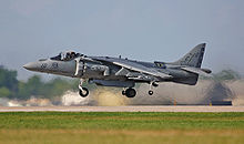 Airplane Picture - An AV-8B from VMA-231 at Oshkosh 2003.