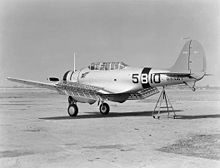 Airplane Picture - BT-1 of VB-5 in 1938
