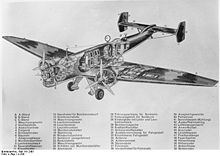 Airplane Picture - Ju 86 diagram
