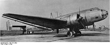 Airplane Picture - Ju 86G - note the radial engines and rounded glazed nose