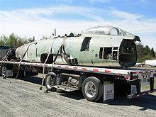 Airplane Picture - F-100D delivered to Carolinas Aviation Museum