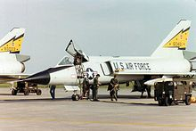 Airplane Picture: F-106A Delta Darts from 5 FIS at CFB Moose Jaw in 1982