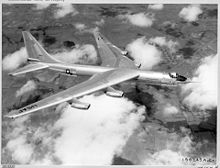 Airplane Picture - A YB-60 in flight.