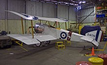 Airplane Picture - A replica of an Sopwith Pup at the RAAF Museum