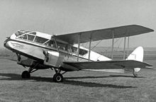 Airplane Picture - DH.84 Dragon 1 of Air Navigation & Trading (UK) in 1956