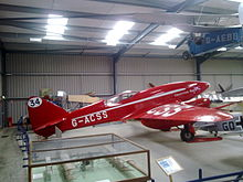 Airplane Picture - DH88 Comet Racer 'Grosvenor House' at Shuttleworth Collection 2010