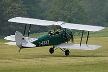 Airplane Picture - DH.82A Tiger Moth, 2005