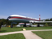 Airplane Picture - Dan-Air DH-106 Comet 4C, G-BDIW at the Flugausstellung Hermeskeil exhibit, credit: Klaus Nahr