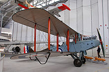 Airplane Picture - DH.9 preserved at the Imperial War Museum Duxford