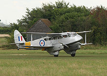 Airplane Picture - De Havilland DH-89A Dragon Rapide G-AIYR at Old Warden airfield