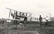 Airplane Picture - Imperial Airways DH.66 Hercules