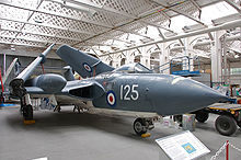 Airplane Picture - A Sea Vixen FAW.2 at the Imperial War Museum, Duxford