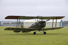 Airplane Picture - DH-82B Queen Bee, 2008. Built 1944.
