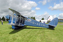 Airplane Picture - 1944 de Havilland DH89a Dragon Rapide 6
