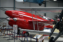 Airplane Picture - DH88 Comet Racer at Shuttleworth Collection