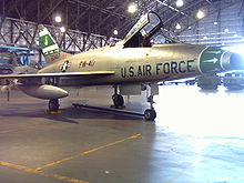 Airplane Picture - F-100D-86-NA (formerly F-100D-85-NH), AF Ser. No. 56-3417, with High Wire Mods, at Wings Over the Rockies Air and Space Museum (former Lowry AFB), Denver, Colorado, painted in its original 356th TFS, 354th TFW colours