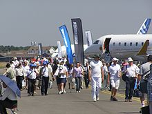 Airplane Picture - Aircraft on static display at the 2006 Farnborough show.