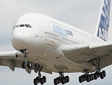 Airplane Picture - The Airbus A380, at Farnborough