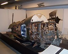 Airplane Picture - Fuselage wreck at Finnish Aviation Museum