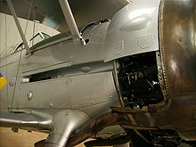Airplane Picture - The fuselage .303 inch machine guns