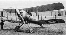 Airplane Picture - Nightjar during evaluation at Farnborough in 1922 - Note arrestor jaws on undercarriage