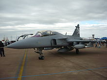 Airplane Picture - Saab Gripen NG demonstrator at RIAT 2010.